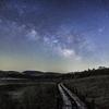 【天体撮影記 第26夜】 長野県 八島ヶ原高層湿原から木道と天の川