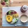 身体をはったパンと美味しい紅茶でひとりランチ