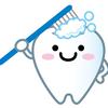 長女と歯磨き