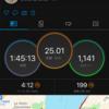 2020/6/6 50歳初日は、これまでで一番速い25km走