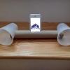 iPhone:DIYで拡声器、お子様の夏休みの自由研究にどう?