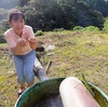 鹿児島県某所『ドラム缶の温泉』を卓上カレンダーに♪