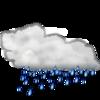 夜の雨が翌朝まで残らず安心!通勤通学に影響なし