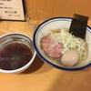 富士松@荒川遊園地前の鶏ダシ醤油つけ麺