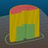3Dプリンターの「反る」「サポート材の除去困難」なモデルをうまく出力するためのコツ