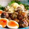 【レシピ】大葉豚こまボールの甘酢炒め