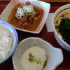 山田うどん「パンチ定食・Aセット」