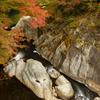 河内渓谷の秋