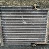 コマツダンプHD205-3 クーラーコンデンサー修理