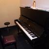 久しぶりのピアノ練習