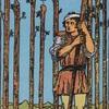 タロットカード:小アルカナ ワンドの9