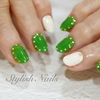 色んな種類の緑色☆グリーンカラーのネイルデザイン