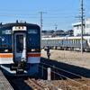 高山本線増結ひだ・HC85系留置@美濃太田付近(18きっぷ中京①)
