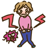 免疫力の低下がカンジダ膣炎を引き起こす