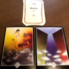 今週末と来週をあらわすカードは「再誕生」、アドバイスカードは「精神分裂」、アロハウハネカードは「山」でした