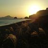 秋の黄昏岬