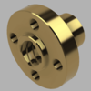 Fusion360で、4条台形ねじのリブ付きナットをモデリングする