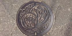 富山県小矢部市のマンホール