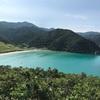 これが五島の高浜海水浴場!グーグルアースでも際立ってるエメラルドグリーンの海