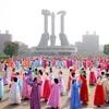 北朝鮮建国記念日 核保有を強調、プーチン氏から祝電