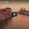 水の芸術の都 イタリア ベネチアを空から眺める映像