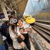 新幹線大好き息子をドクターイエロー観覧に東京駅へ