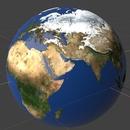 Blender 310日目。「地球のモデリング」その1。