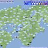 【初氷】放射冷却で冷え込んだ近畿地方では大阪管区気象台で『初氷』を観測!今シーズン1番の冷え込みに!!