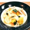 ホットクックレシピ鶏肉とかぼちゃのミルクスープ