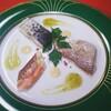 蒸し魚三種