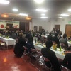 台風並みの低気圧の中、安芸商工会議所懇親会に出席