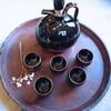 白山陶器の酒器セット