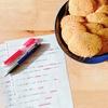 【編み物とシンプルな暮らし11回目】クッキー作って試験勉強をがんばった日