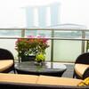 シンガポール穴場のルーフトップバー@Fullerton Bay Hotel