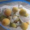 初めての梅ジュース作り、ジップロックで手軽に作ることができました