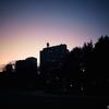 【photo】マジックアワーの日比谷公園/Hibiya park at magic hour