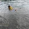 今日は家族で四尾連湖へ。