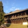 「お水取り」が終われば奈良に春がくる。