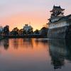 春を待つ富山城と松川べり