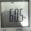 筋トレで体重が60キロまで達した推移・食生活を紹介します。