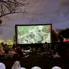 【江津湖シネマ】外での映画鑑賞は非日常感が味わえて最高です。