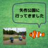 岡崎市にある、矢作公園に行ってきました。(子ども連れにおすすめ)
