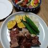 豚肉と野菜のオーブン焼き