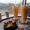 ソウル 昌徳宮を眺めることができる柿スイーツのカフェ