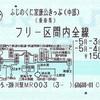 ふじのくに家康公きっぷ(中部エリア)