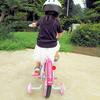 4歳の誕生日プレゼントは14インチ補助輪付き自転車