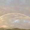 夕刻の虹🌈