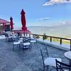 妙高高原 赤倉温泉 「赤倉観光ホテル」カフェ・ベーカリーとお食事、お勧めはフルーツケーキ、最後に暖かいお見送り