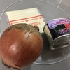 コンビーフの親戚と、玉ねぎのホットサンドを作ったよ。