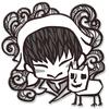 白澤とマオハオハオちゃんを描いてみた #鬼灯の冷徹 #白澤 #マオハオハオ